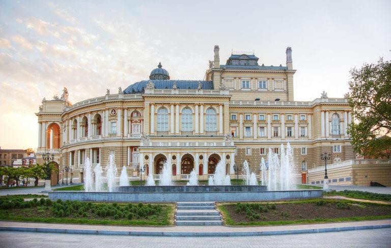 ukraina odessa ooppera- ja balettiteatteri