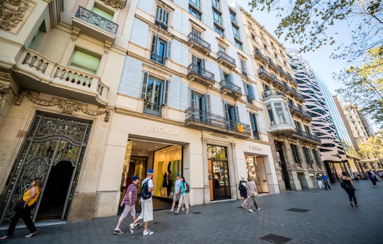 barcelona shoppailu