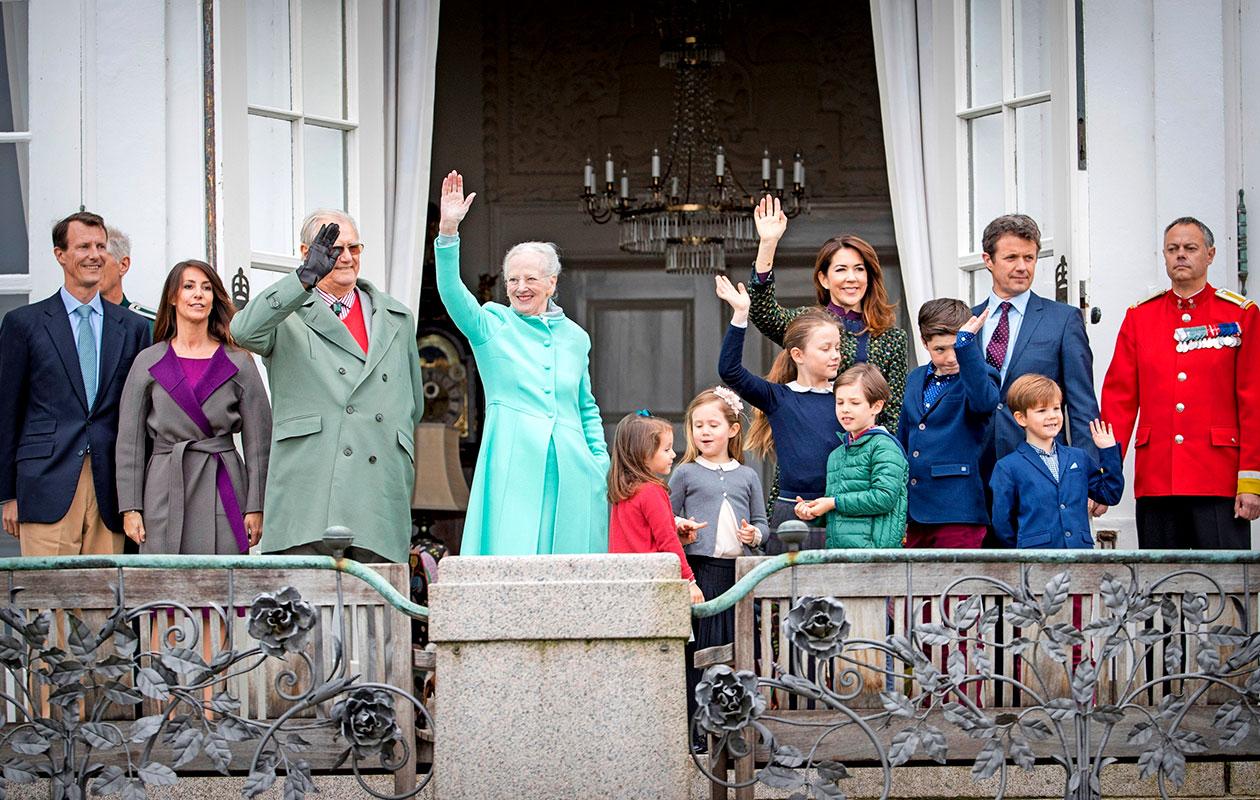 Tanskan kuninkaalliset