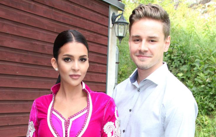 Sara Chafak ja poikaystävä Tuomas Varesvuo