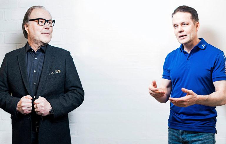 Paavo Koistinen ja Mikko Lehtovirta