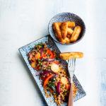 Tässä supertrendikkäät halloumiranskalaiset sekä viisi muuta hykerryttävän hyvää perjantairuokaa, jotka siivittävät sinut viikonlopputunnelmaan.