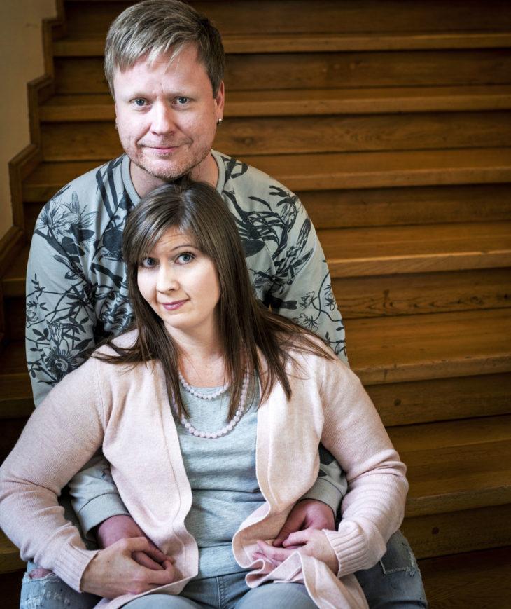 Sami Minkkinen ja Katri