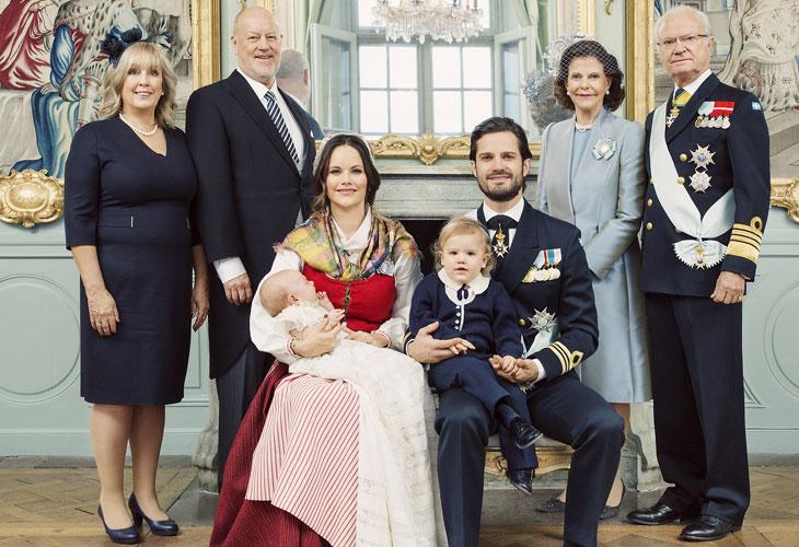 Sofian vanhemmat: Marie ja Erik Hellqvist