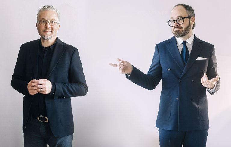 Pekka Aula ja Tuomas Enbuske