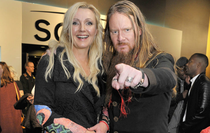 Jouni Hynynen ja vaimo Mari Perankoski