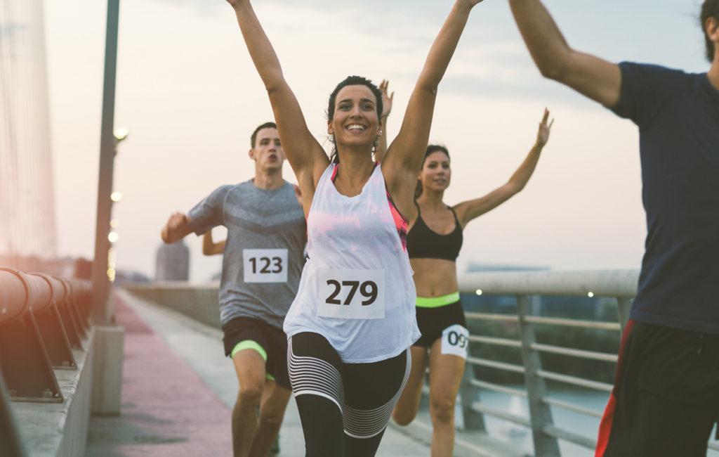 Juoksutapahtumaan osallistuminen on mainio tapa pitää juoksumotivaatiota yllä.