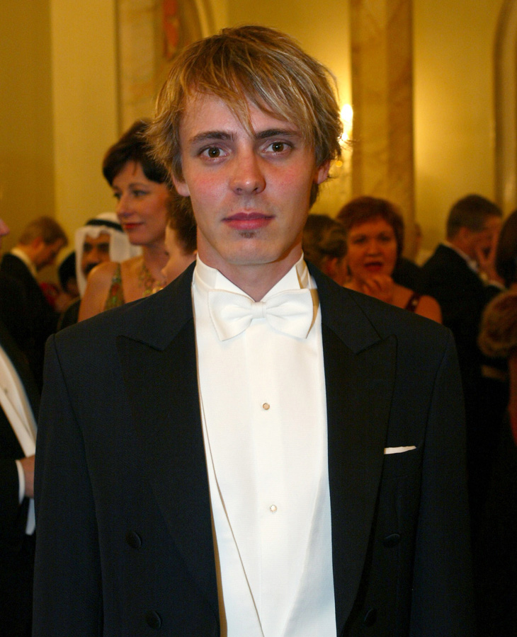 Jasper Pääkkönen Linnan juhlissa vuonna 2005. Tuolloin hän oli tähdittänyt Paha maa -elokuvaa.