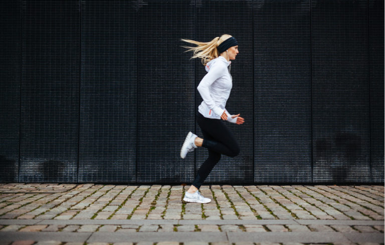 Juoksijan lihaskunto