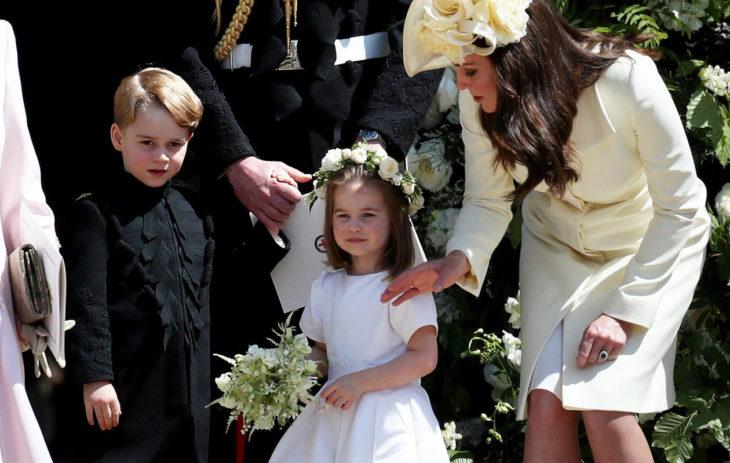 Prinssi George ja prinsessa Charlotte toimivat Harryn ja Meghanin häissä sulhaspoikana ja morsiusneitona.