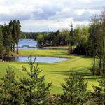 Suomen paras ja kaunein kenttä, Viipurin Golfin Etelä-Saimaa.