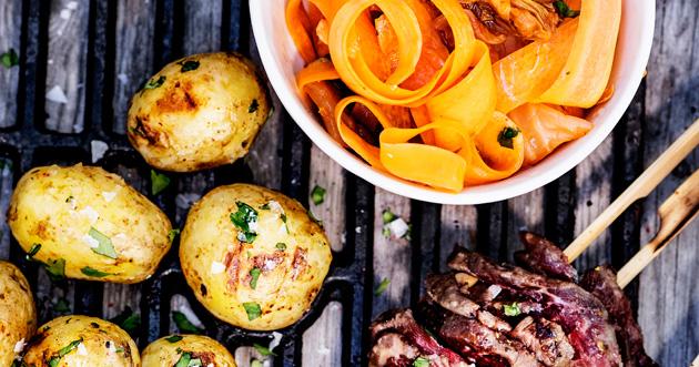 porkkana-kimchisalaatti