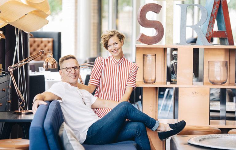 Sami Saikkonen ja Sonja Sorvola