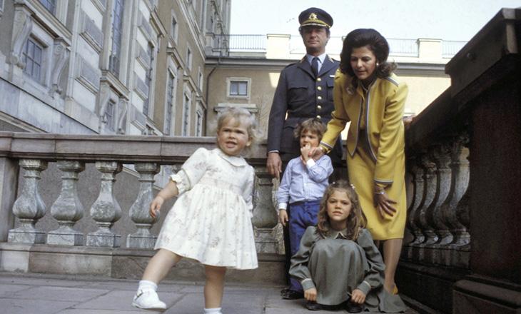 Ruotsin kuninkaallinen perhe 1984.