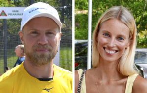 Sean ja Vilma Bergenheim muuttavat Suomeen.
