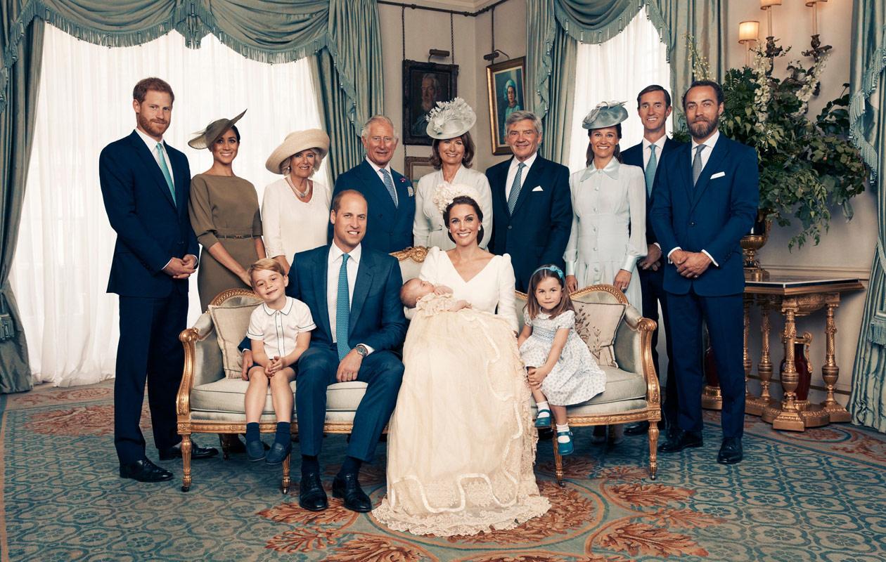 Huomasitko nämä asiat prinssi Louisin ristiäiskuvista? 5 kiinnostavaa yksityiskohtaa