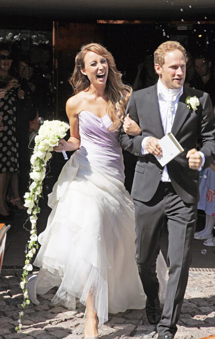 Niina Backman ja Lorenz Backman avioituivat vuonna 2011.