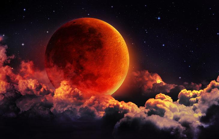 Täydellinen kuunpimennys