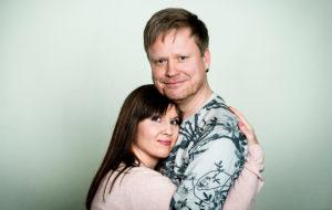 Katri Kivinen ja Sami Minkkinen
