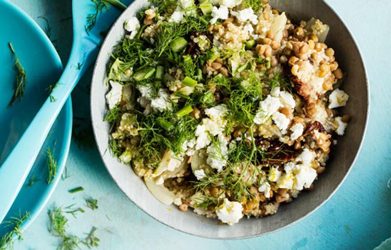 Fodmap-resepti: kvinoa fenkolirisotto