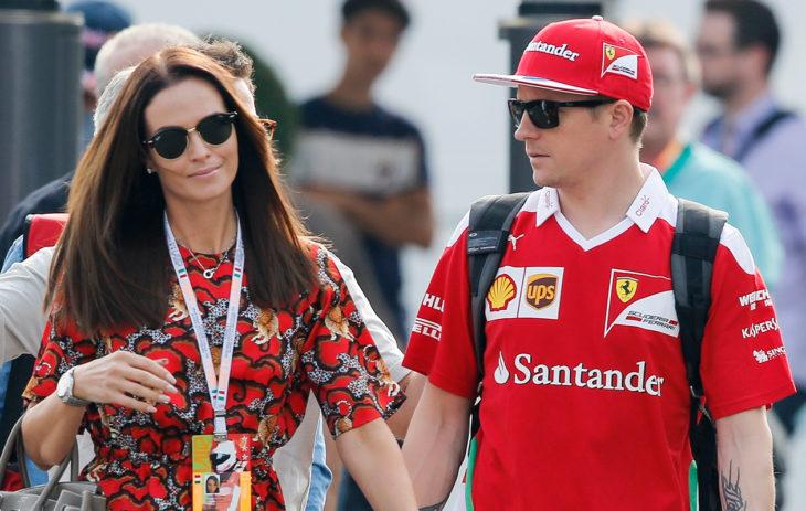 Minttu Räikkönen ja Kimi Räikkönen