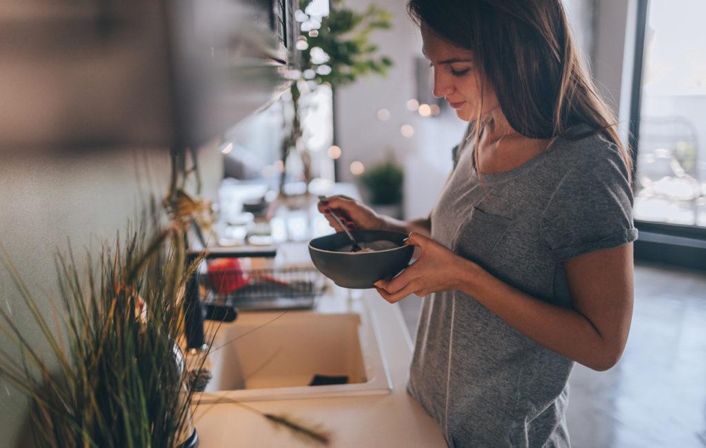 Kauravälipala on helppo syötävä töihin tai kotiin.