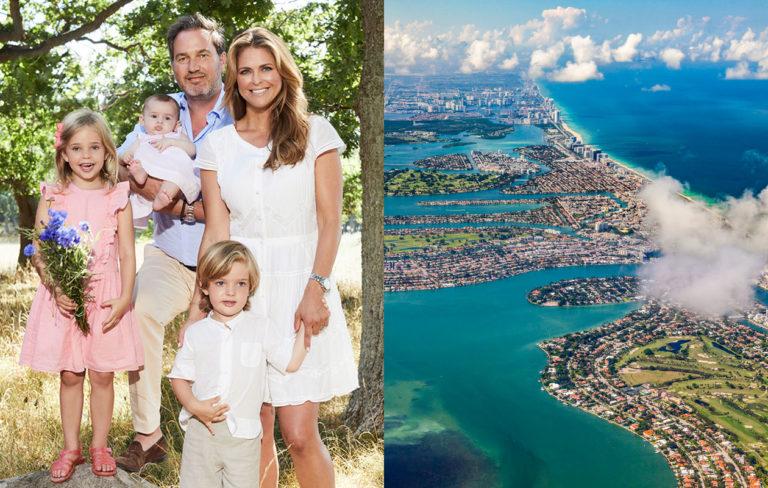 Prinsessa Madeleine muuttaa perheineen Yhdysvaltoihin: täällä heidän uusi kotinsa sijaitsee
