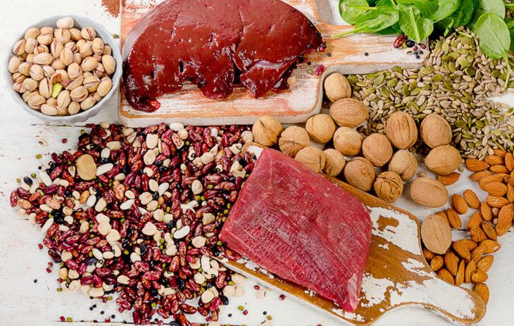 Saatko ravinnostasi tarpeeksi rautaa? 20 ruoka-ainetta, jotka sisältävät rautaa