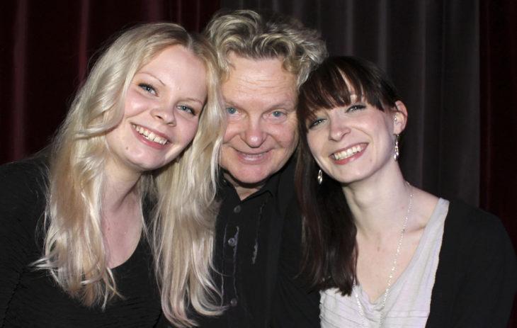 Pepe Willberg ja tyttäret Kirsikka ja Kastanja