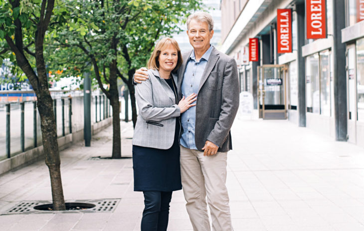 Mariette Lindstein ja Dan Koon