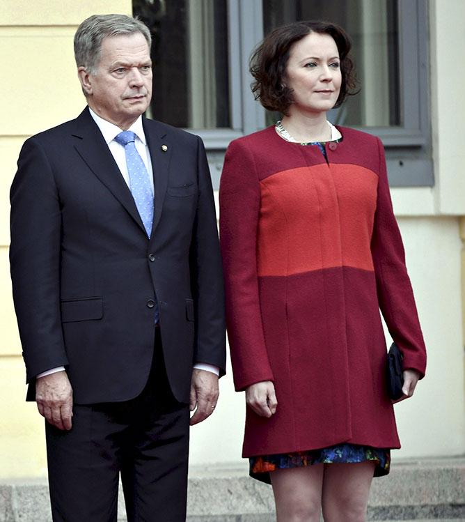 Sauli Niinistö ja Jenni Haukio tapasivat ensimmäisen kerran vuonna 2006.