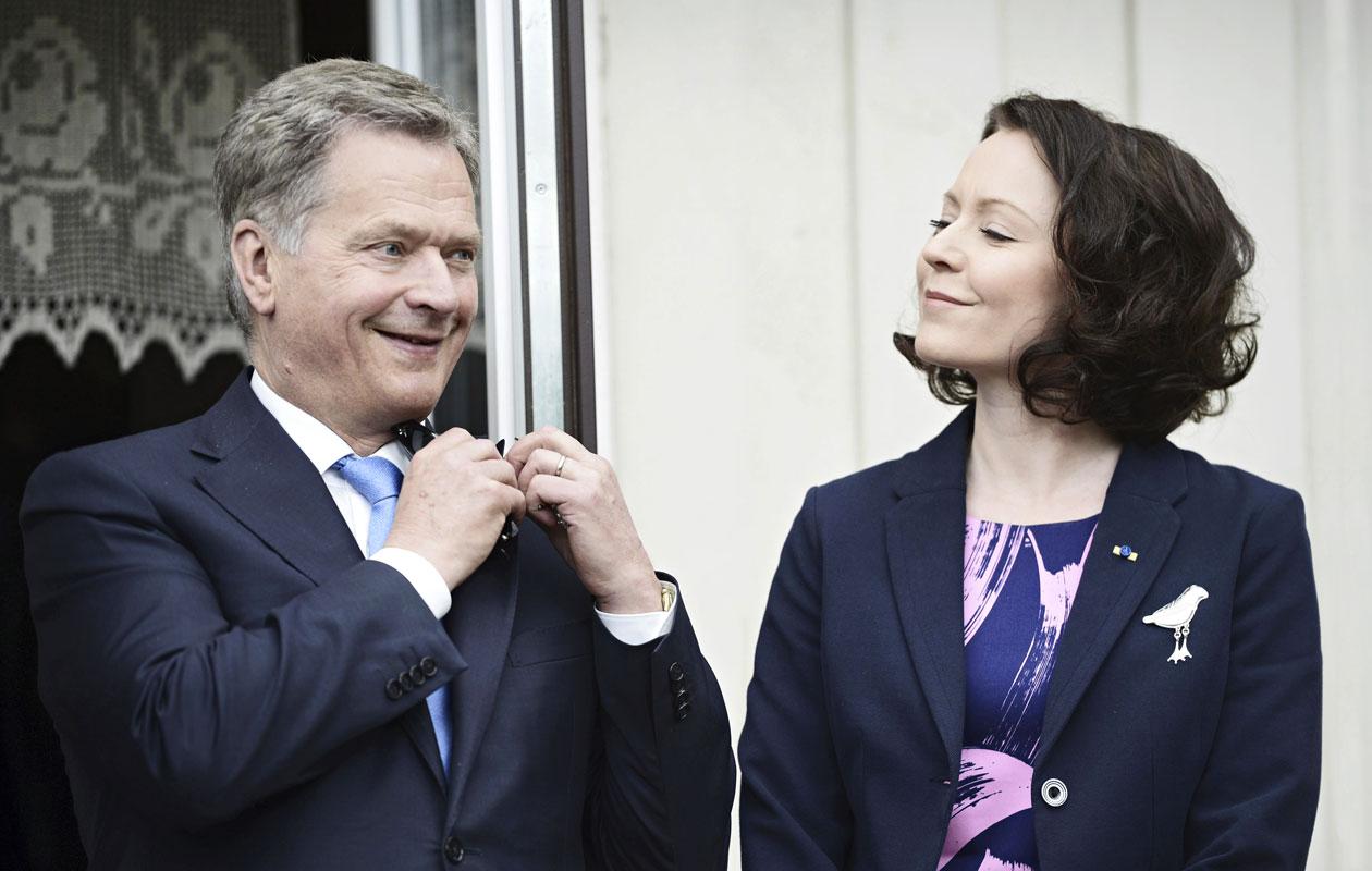 Sauli Niinistön ja Jenni Haukion rakkaustarina sai alkunsa yli 10 vuotta sitten.