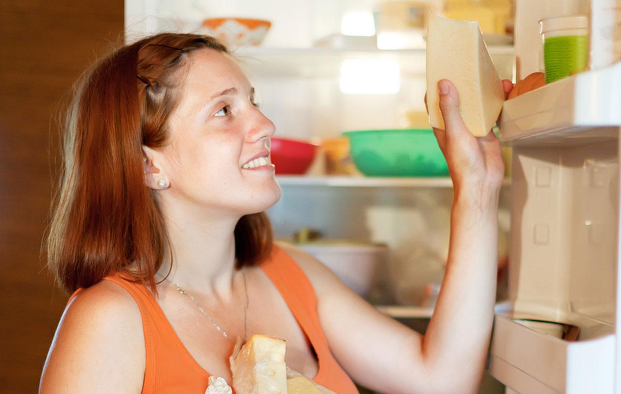 Juusto säilyy avattuna seitsemän vuorokautta jääkaapissa.