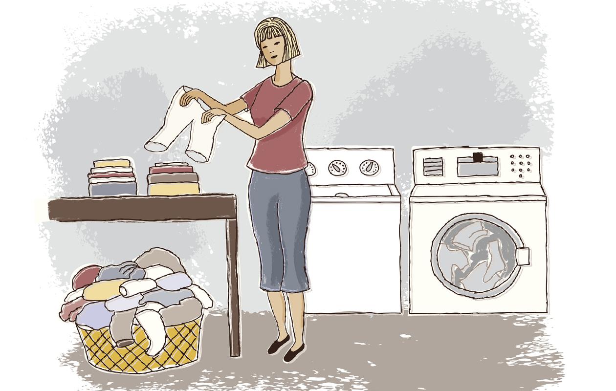 Pyykinpesumerkinntä ja pyykinpesuohjeet