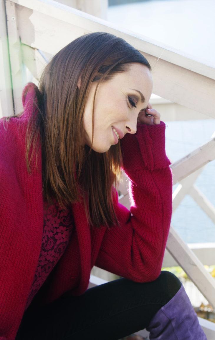 Niina sanoo ihastuneensa Loren tapaan olla ihmisten kanssa.