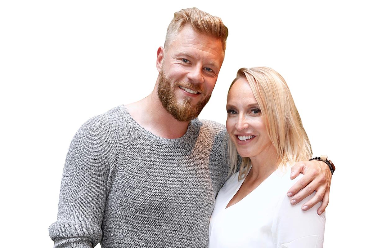 Juha Rouvinen ja Jutta Gustafsberg