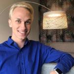 Christoffer Strandberg on tehnyt komediaa ja satiiria koko ikänsä, pienestä pojasta lähtien.