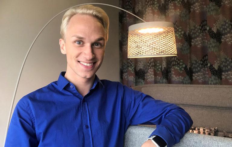 Christoffer Strandberg on tehnyt komediaa ja satiiria koko ikänsä, pienestä lähtien.