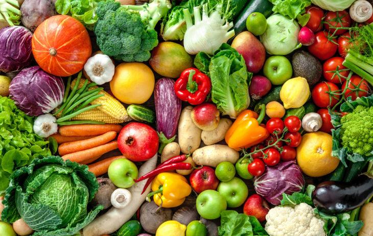 Puoli kiloa vihanneksia päivässä