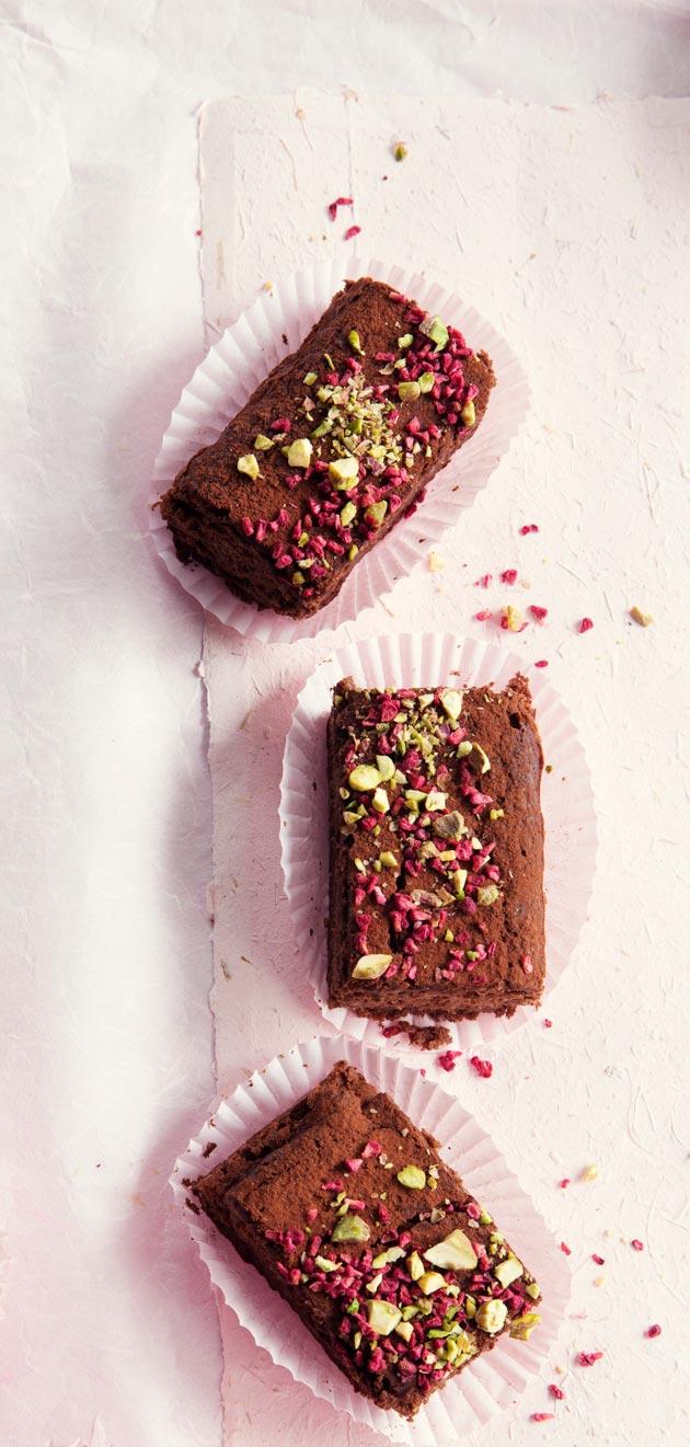 Gluteeniton leivonnainen voi olla myös libanonilainen brownie.