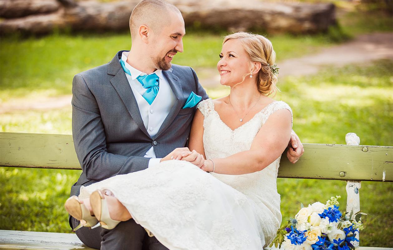 Heikki ja Miina avioituivat Ensitreffit alttarilla -ohjelmassa.