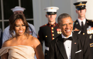 Michelle ja Barack Obama