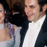 Missi Satu Procopé Linnan juhlissa puolisonsa Berndt-Johan Procopén kanssa vuonna 1977.