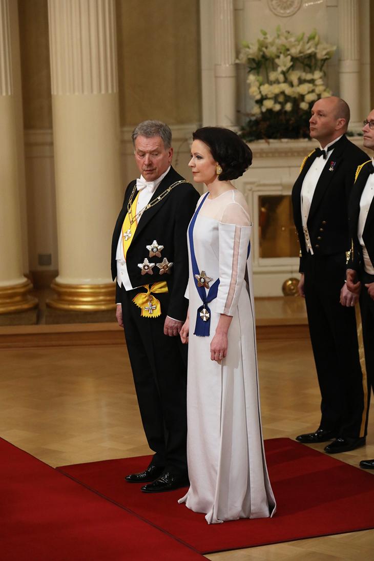 Sauli Niinistö ja Jenni Haukio