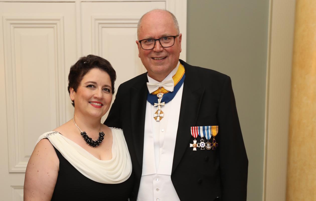 Eero Heinäluoma ja Ayla Shakir