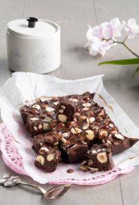 pähkinä-suklaafudge