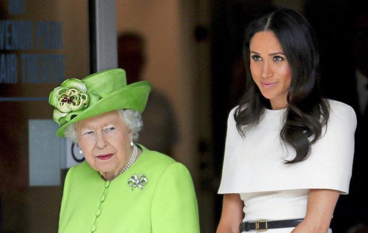 Meghan ja kuningatar