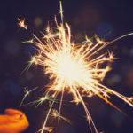 Uusivuosi on tähtisadetikkujen ja uudenvuodenlupausten päivä.
