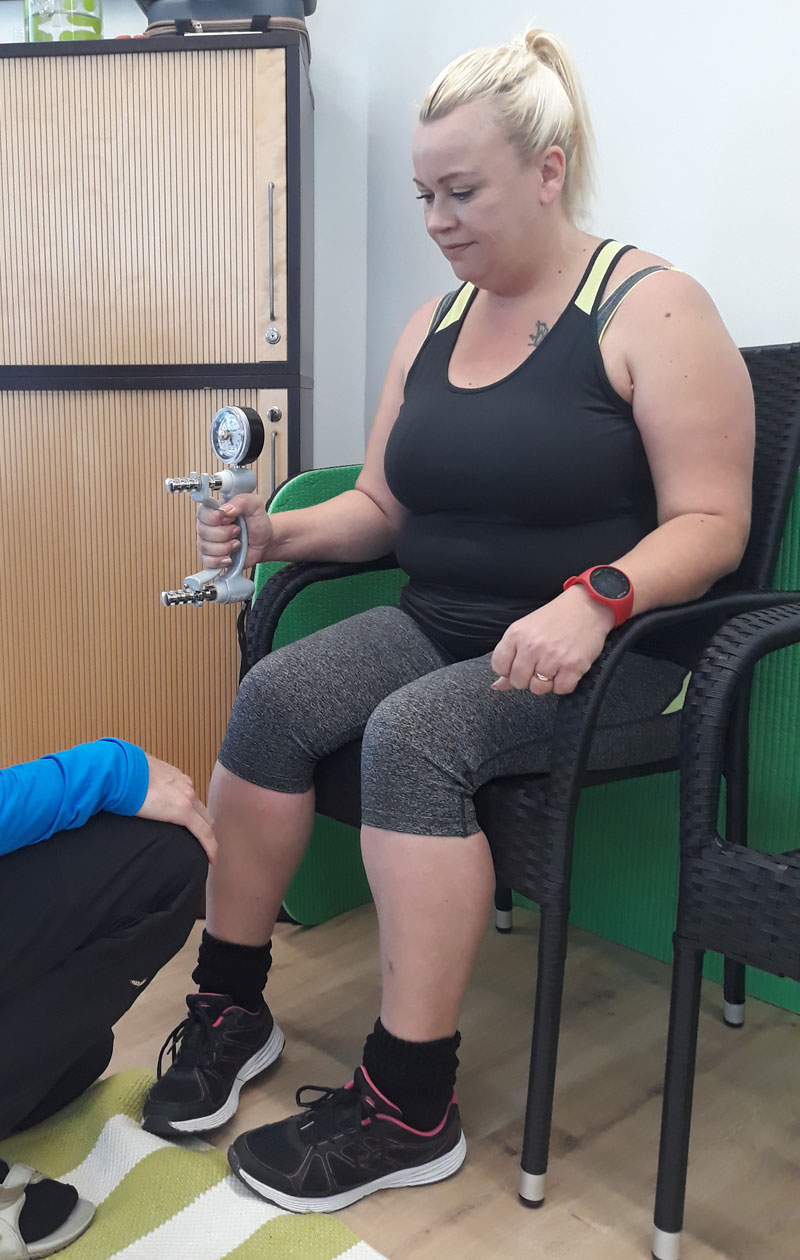 Hanna Maaria elokuussa 2017