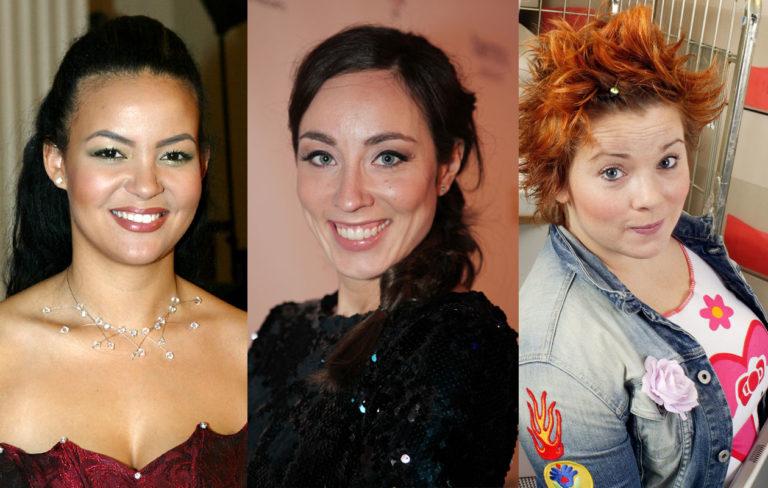 Lola Odusoga vuonna 2007, Anni Hautala vuonna 2012 ja Kiti Kokkonen vuonna 2004.